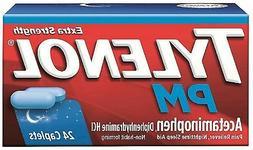 Tylenol PM Extra Strength Caplets, 24 Count