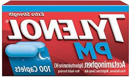 TYLENOL PM Extra Strength Pain Reliever/Nighttime Sleep Aid