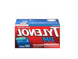 Tylenol PM Extra Strength Pain Reliever & Sleep Aid 100 Capl