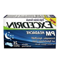 Excedrin PM Headache Pain Reliever/Nighttime Sleep-Aid Caple