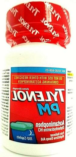 Tylenol PM Nighttime Sleep Aid Extra Strength Pain Relief 15
