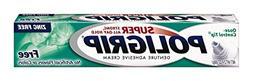Super Poligrip Denture Adhesive Cream: 2 Packs of 2.4 Oz