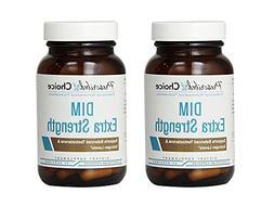 Set of 2 Prescribed Choice DIM Extra Strength 30 Capsules Bu