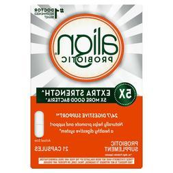 Align Probiotic 5X Extra Strength 21 Capsules EXPIRES 12/202
