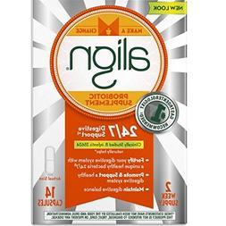 Align Probiotic Supplement 24/7 Digestive Support, 28 Capsul
