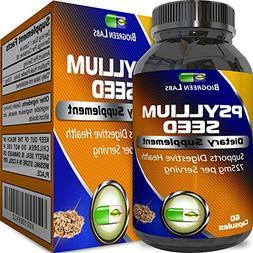 Premium Psyllium Husk Powder Pills Soluble Fiber Pure Natura