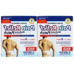 Pure-Aid Extra Strength Pain Relief Patch-5ct 2 Pack