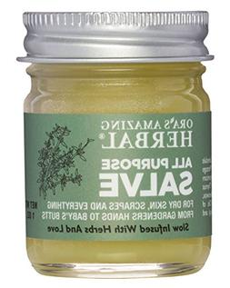 All Purpose Healing Salve Dry Itchy Skin Cracked Heels Hands