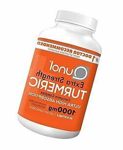 Qunol Extra Strength Turmeric Curcumin Complex 1000mg 30 Sof