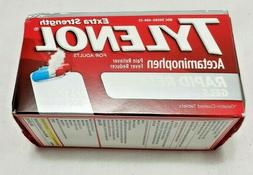 Tylenol Rapid Release Gels Extra Strength 225 Count EXP: Feb