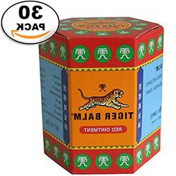 WHOLESALE 30 Pack Tiger Balm Red Extra strength Herbal Rub M