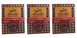 Tiger Balm Red Pain Relieving Ointment  with Camphor, Mentho