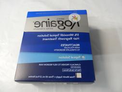 Rogaine Men's Extra Strength Unscented Bottles Topical Solut