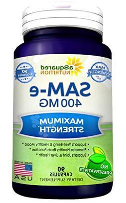 Pure SAM-e 500mg Supplement - SAM e 90 Capsule s- SAMe