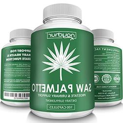 Saw Palmetto Prostate Supplements for Men Women Prostate Hea