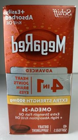 Schiff MegaRed Advanced 4 in 1 Extra Strength 900mg 40 Softg