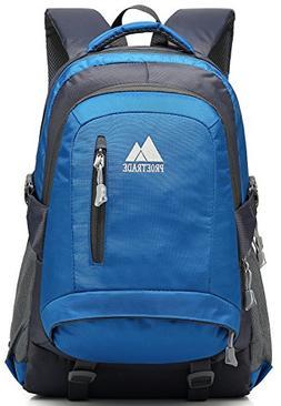School Backpack BookBag For College Travel Hiking Fit Laptop