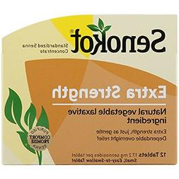 Senokot Natural Vegetable Laxative Ingredient, Extra Strengt