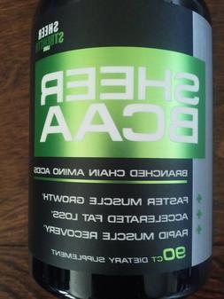 Sheer Strength BCAA Capsules - Extra Strength 1,950mg BOTTLE