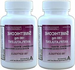 Simethicone 180 mg 360 Softgels Anti-Gas Generic for Phazyme