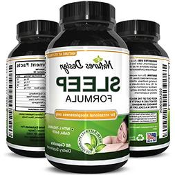 Natural Sleep Aid Pills the Best Herbal Sleeping Formula wit