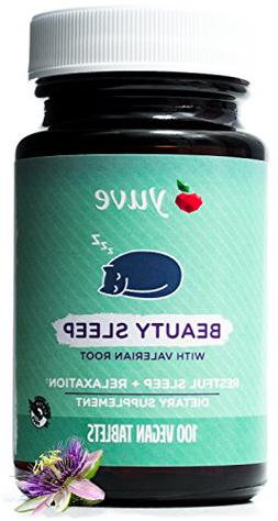 Yuve Natural Sleep Aid Supplement - Non-Habit Forming Vegan