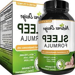 Sleep Formula with Magnesium and Gaba Supports Deep Uninterr