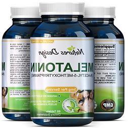 Natural Sleeping Aid - Melatonin 3mg-Chewable Tablets for Me