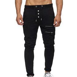 ☀☀Promotion! Men Slim Pants, NEARTIME Clearance Mens Cas