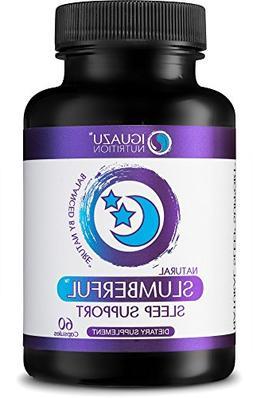 Slumberful Natural Sleep Aid - Premium Sleeping Pills With V