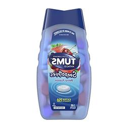 TUMS Smoothies Berry Fusion Extra Strength Antacid Chewable