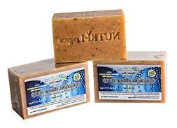 NUTRI-Logics' BEST - HONEYSUCKLE LEMON COLLOIDAL SILVER SOAP