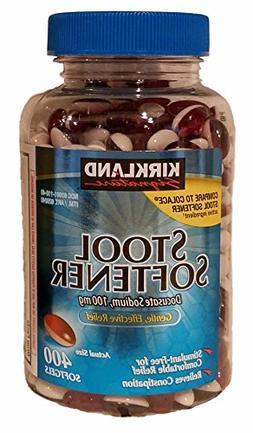 Kirkland Signature Stool Softener 100 mg, 400 Softgels