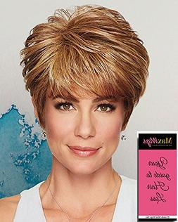 Strength Wig Color Light Brown - Gabor Wigs Layered Tapering
