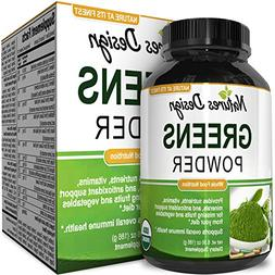 Superfood Greens Powder – Healthy Organic Blend – Energy