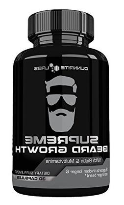 SUPREME BEARD GROWTH - Beard Vitamins | Leader in Facial Hai