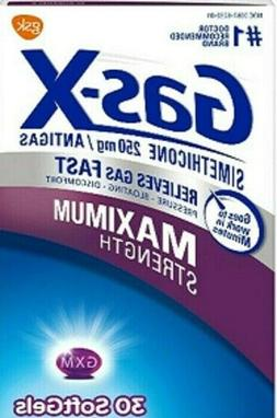 Gas-X Tablets Extra-Strength Peppermint Cream 18ct