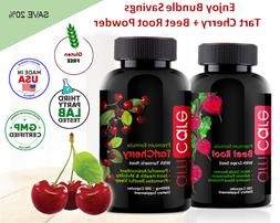 tart cherry extract and beetroot powder value