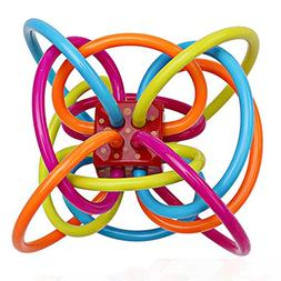 Baby teether teether teether Baby teether Baby Rattle Ball a