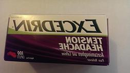 Excedrin® Tension Headache Caplets #100