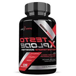 Testo Xplode Testosterone Booster for Men – Helps Build Mu