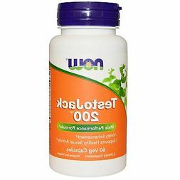 Now Foods TestoJack 200 - 60 Vcaps 6 Pack