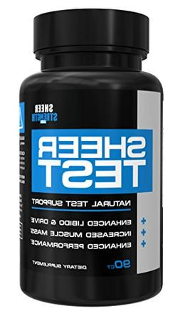 Sheer Testosterone Booster for Men - Natural Supplement for