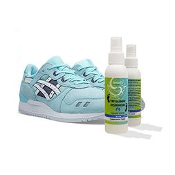 Deodorizing foot spray for smelly sweaty feet, shoes and soc