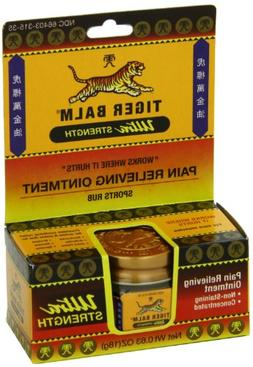 Tiger Balm Pain Relieving Ointment Extra Strength, .63 Ounce