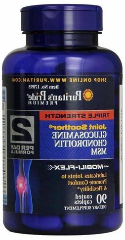 Puritan's Pride Triple Strength Glucosamine, Chondroitin & M