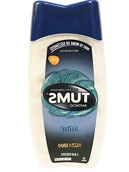 Tums Antacid, Ultra Strength 1000, Mint, 160 Chewable Tablet