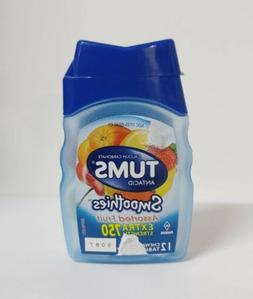 Tums Smoothies Extra Strength 750 Assorted Fruit Antacid and