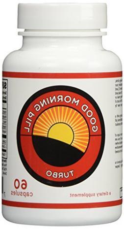 Good Morning Pill Turbo - 200mg Caffeine Pills - Extra Stren