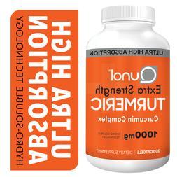 Turmeric Curcumin, Qunol Ultra High Absorption Extra Strengt